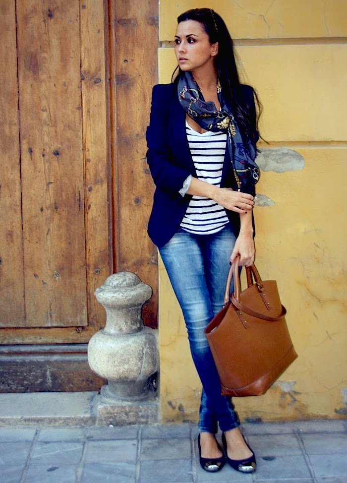 How To Wear A Navy Blazer - By 3 WAYS TO WEAR