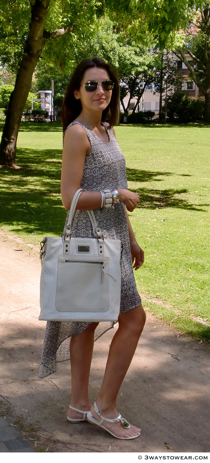 How To Style A Dip Hem Dress by 3 Ways To Wear