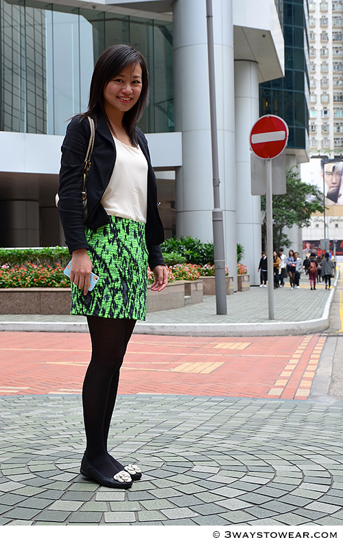 How To Wear A Neon Skirt