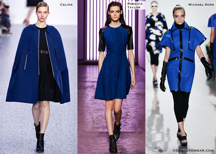 How To Wear Black And Blue Together