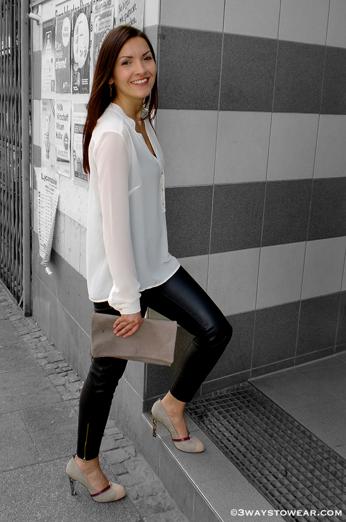 How To Wear Leather Pants by 3 Ways To Wear