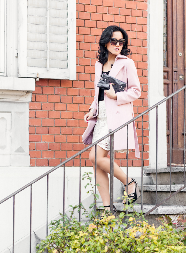 How To Wear Pastel Pink Coats by 3 Ways To Wear