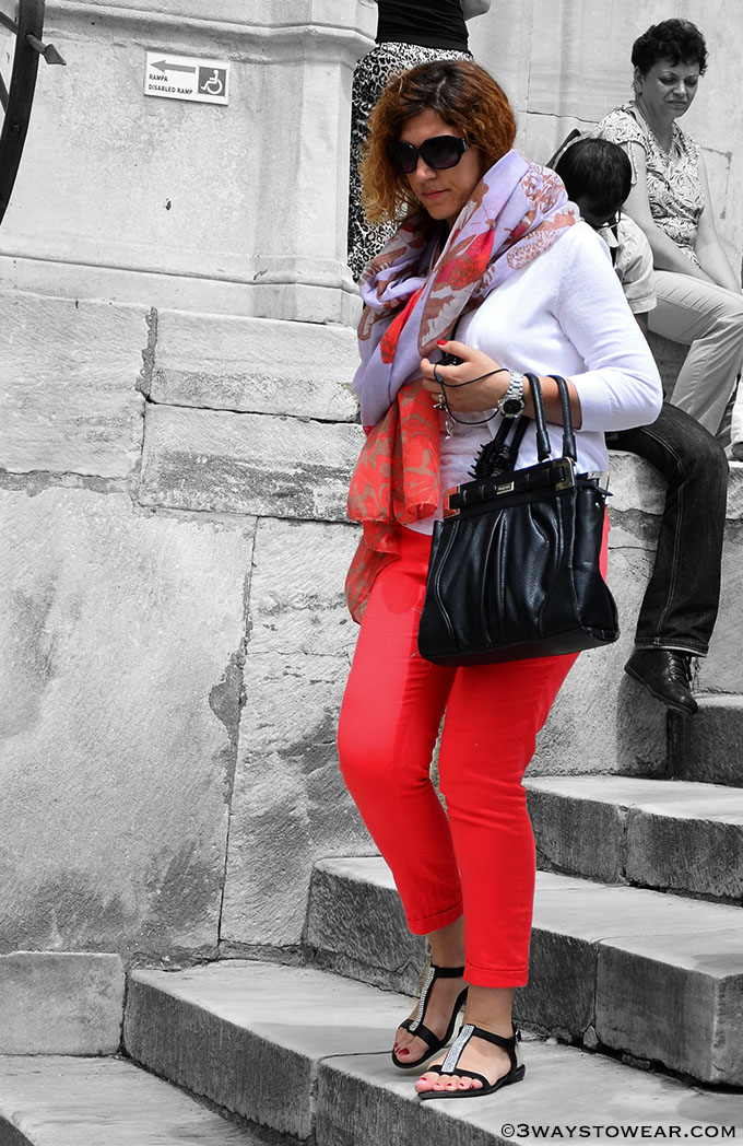 What To Wear With Red Pants by 3 Ways To Wear