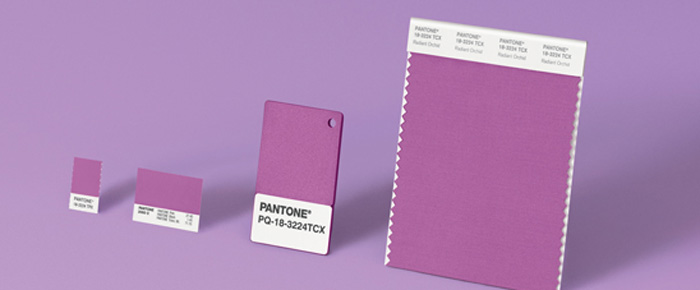 Radiant Orchid - Pantone Colour of the Year 2014