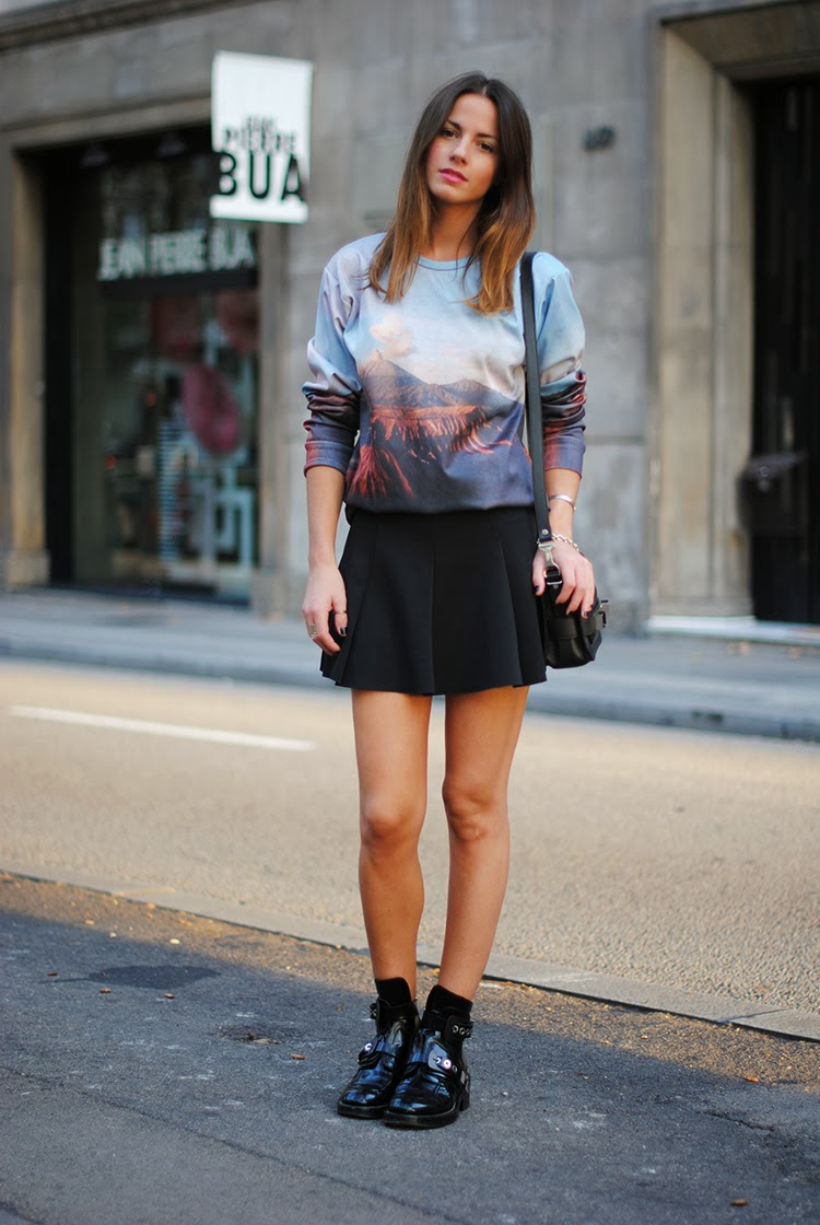 How To Wear Landscape Print