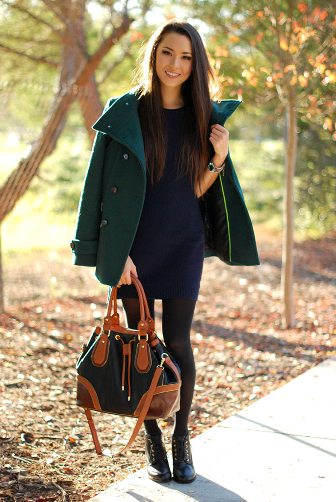 How To Wear Hunter Green