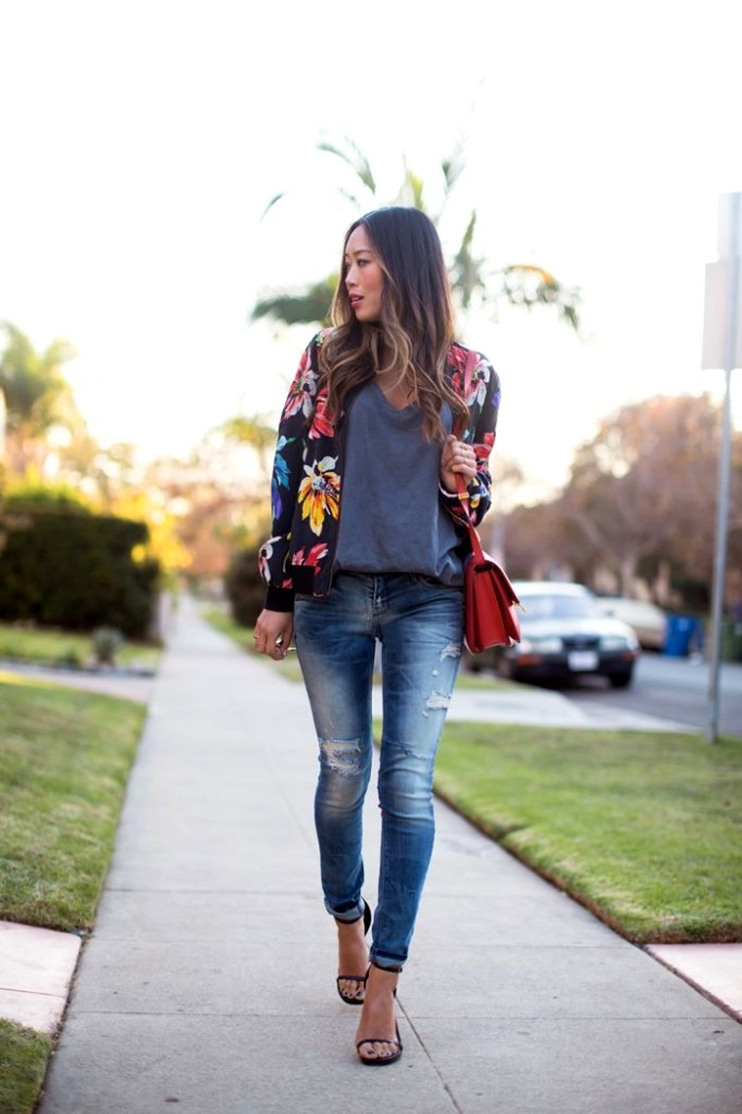 3 Ways To Wear A Bomber Jacket In Summer