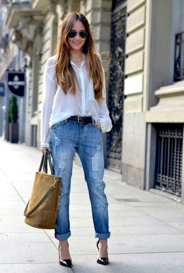 3 Ways To Wear Boyfriend Jeans